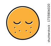acne hand drawn icon vector...