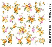 rose vector illustration... | Shutterstock .eps vector #1735813643