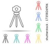 survey instrument multi color...