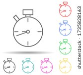 stopwatch multi color style...