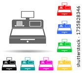 cash machine multi color style...