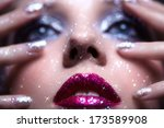 low depth of focus portrait of... | Shutterstock . vector #173589908