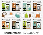 infographic elements | Shutterstock .eps vector #173600279