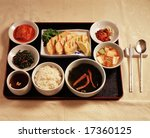 asian style cooking isolated  ...   Shutterstock . vector #17360125