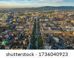 Aerial View Of O\'connell Stree...