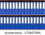 the image of file folders.  | Shutterstock . vector #173607584