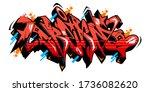 abstract word dream graffiti...   Shutterstock .eps vector #1736082620