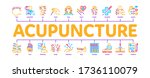 acupuncture therapy minimal...   Shutterstock .eps vector #1736110079