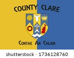 flag of county clare is a... | Shutterstock .eps vector #1736128760