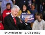 madison  wi feb. 14 president... | Shutterstock . vector #173614589