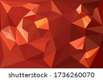 glitter red wedding wallpaper... | Shutterstock .eps vector #1736260070