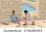 New Testament  John 9   Jesus...