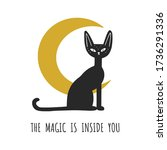 the magic is inside you. print... | Shutterstock .eps vector #1736291336