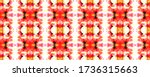 red  white and yellow... | Shutterstock . vector #1736315663