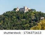 Monforte castle, Campobasso city in Molise
