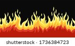 flame fire image element... | Shutterstock .eps vector #1736384723
