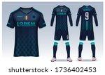 t shirt sport design template ... | Shutterstock .eps vector #1736402453