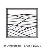 vineyard vector illustration...   Shutterstock .eps vector #1736416373
