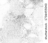 tiny dotted backdrop halftone.. ... | Shutterstock .eps vector #1736455043
