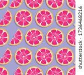 fruit seamless pattern ...   Shutterstock .eps vector #1736468216