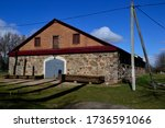 Cowshed. Hutten Czapsky Manor....
