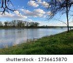 Spring Landscape Of The River