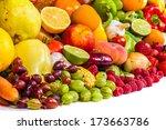 Group Of Fresh Vegetables...