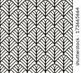 seamless pattern. classical... | Shutterstock .eps vector #173665664