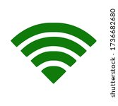 wifi icon  isolated on white...
