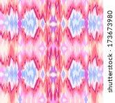 abstract tie dye ikat like... | Shutterstock .eps vector #173673980