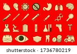 medicine and heath care. large...   Shutterstock .eps vector #1736780219
