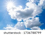 Beautiful Puffy Clouds And...