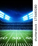 light of stadium | Shutterstock . vector #173680280