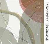 nordic watercolor texture....   Shutterstock .eps vector #1736806919