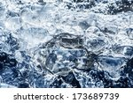 the ice  water | Shutterstock . vector #173689739