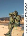 "Small photo of TRIESTE, ITALY - NOV 17, 2017: Monument ""Trieste girls"" (""Le ragazze di Trieste"")in the town of Trieste"