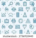 data analytics statistics signs ... | Shutterstock . vector #1736910440