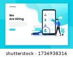 job hiring landing page...