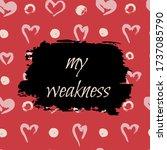 card  flyer  web banner. a...   Shutterstock . vector #1737085790