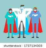doctor superhero. doc is a real ...   Shutterstock .eps vector #1737134303