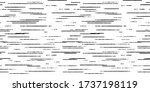 hand drawn black and white... | Shutterstock .eps vector #1737198119