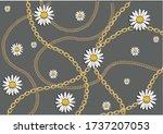 Golden Chain Withdaisy Design...