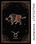 zodiac signs cards. zodiac...   Shutterstock .eps vector #1737227543