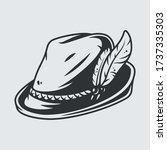 Bavarian Oktoberfest Style Hat...