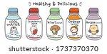 vector.illustration.set of...   Shutterstock .eps vector #1737370370