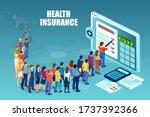 vector of diverse people... | Shutterstock .eps vector #1737392366