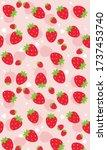 Strawberry Patterns  Red...