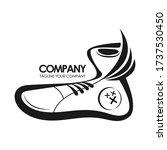 shoes logo vector. logo design | Shutterstock .eps vector #1737530450