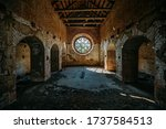 Round Stained Glass Window In...