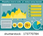 infographics set and... | Shutterstock .eps vector #173770784